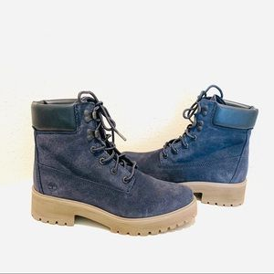 """Timberland Carnaby Cool 6"""" Navy Boots/Sz:9/NWT"""